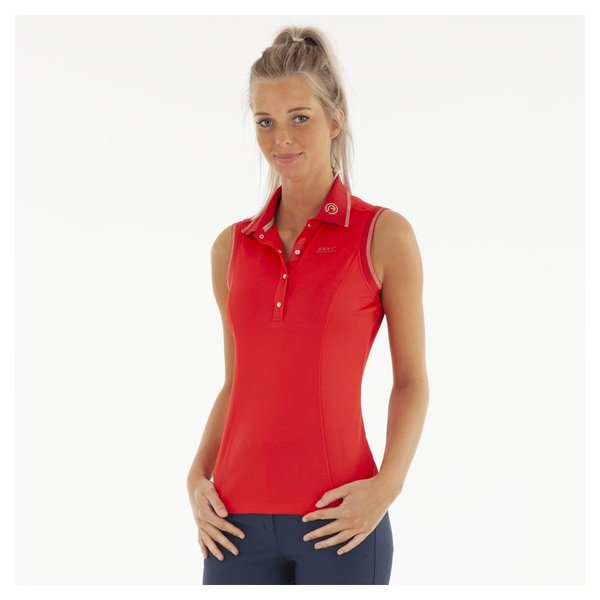 Anky Sleeveless Polo Shirt