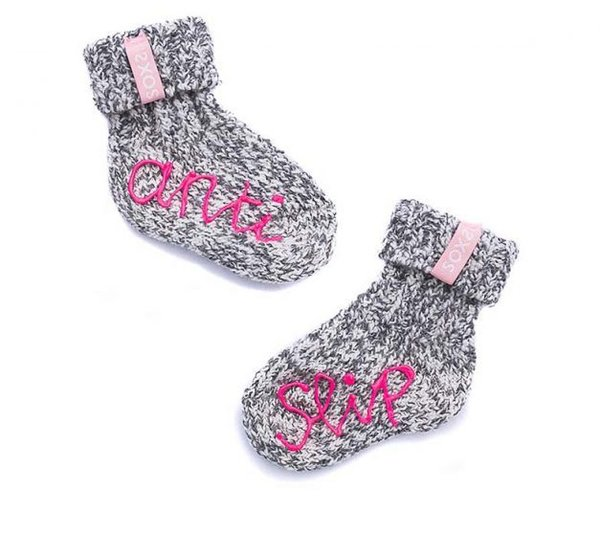 Soxs Baby Wollsocken grau (pink label)