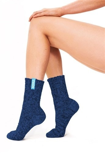 Soxs Wollsocken medium dunkelblau (blue label)